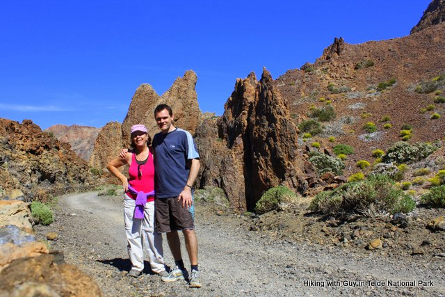 Hiking Teide with Guy