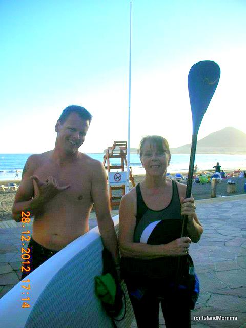 If I lived anywhere else would I have had a surf lesson for my 66th birthday present?