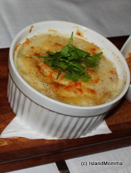 The fish pie we used to have for school dinners was nothing, whatsoever, like this!