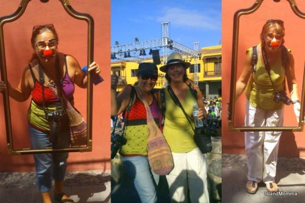Maria & me at Mueca
