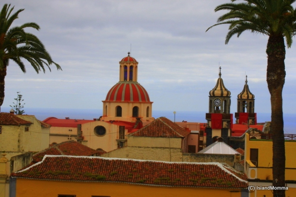 View from balcony of Town Hall La Orotava