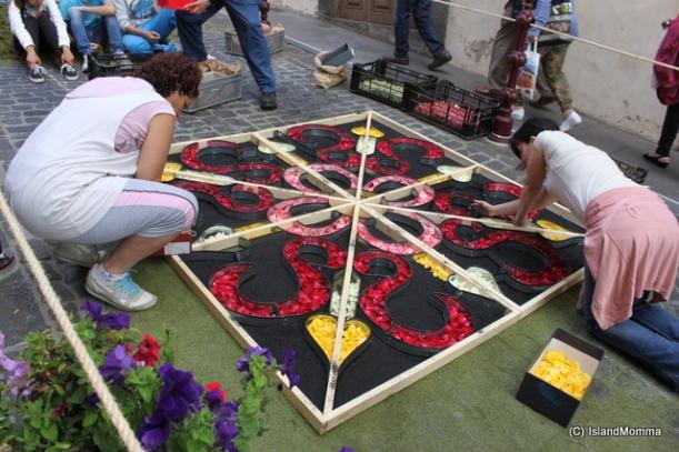 flower carpets Corpus Christi la Orotava