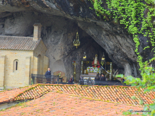 The shrine in the cave Covadonga