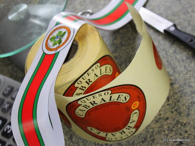 Etiquetta Cabrales