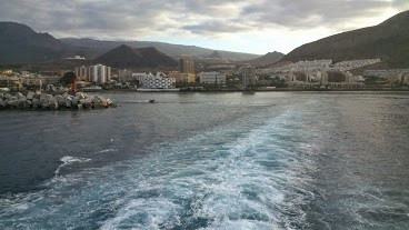 Leaving Los Cristianos