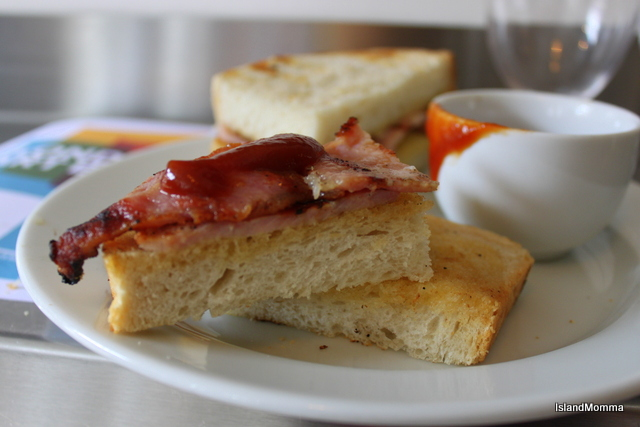 The BEST bacon butty EVER!