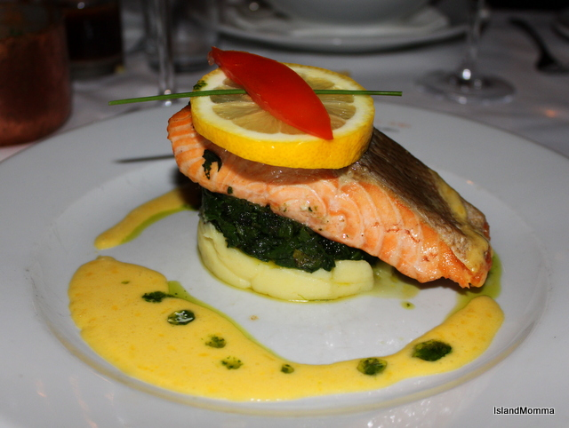 Boardwalk salmon