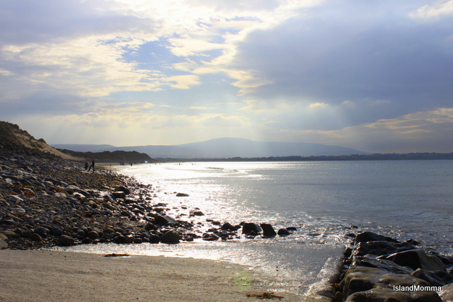 Beach at Strandhill Sligo