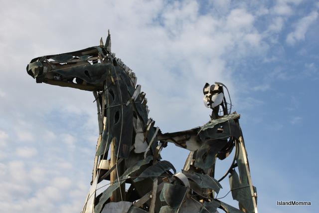 clser view horseman