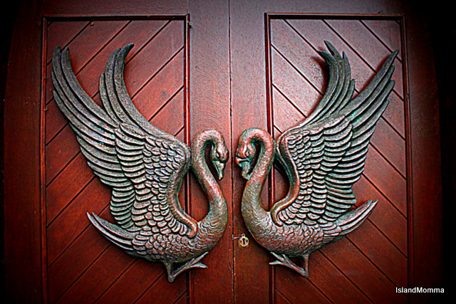 Door of Drumcliffe church Co Sligo