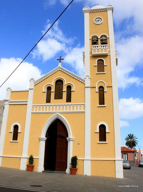 Iglesia de la incarnación hermigua la gomera