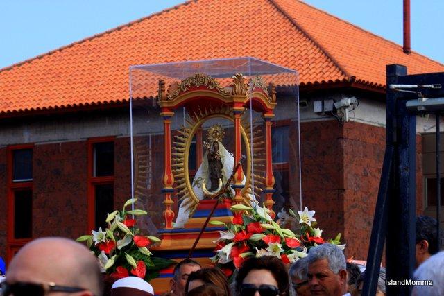 la virgen de guadalupe San Sebastian de la Gomera