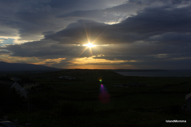 Sunset Strandhill, Sligo