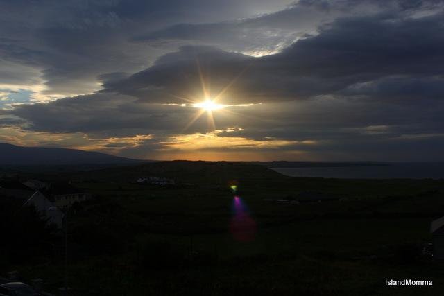 Sunset Strandhill, Sligo