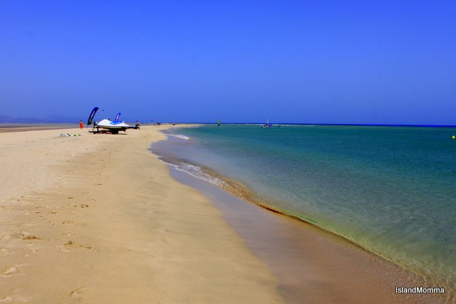 The beach at Risco el Paso in Jandia