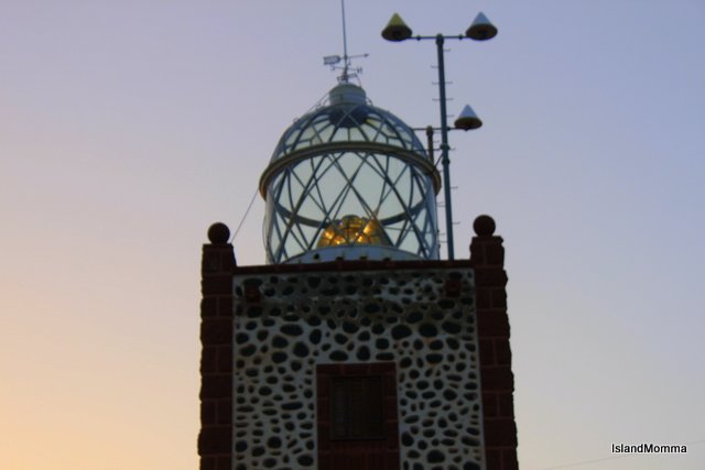 The lighthouse at Entallada