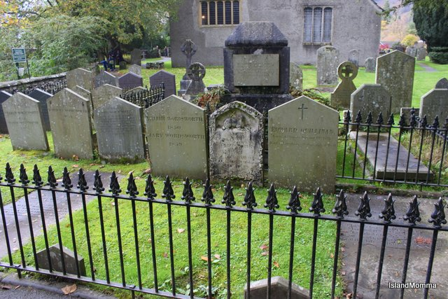 Wordsworth Family graves