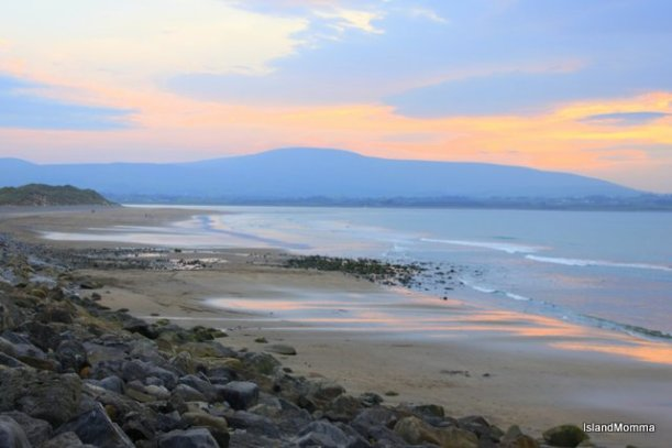 The gorgeous beach at Strandhill