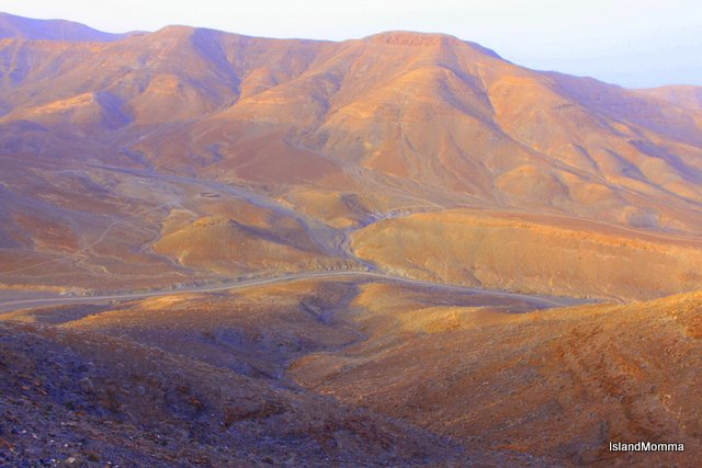Area around Entallada on the east coast of Fuerteventura