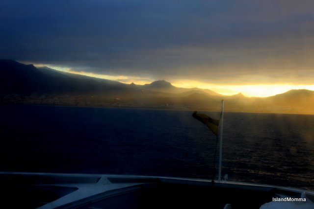 March 3rd Ferry from La Gomera to Tenerife
