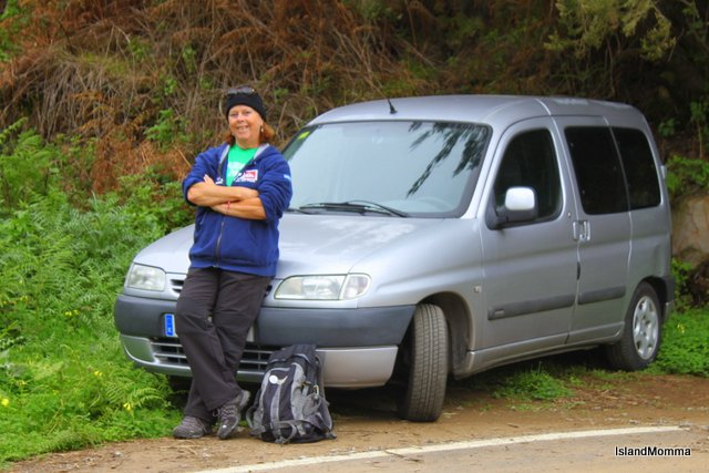 This picture taken end of February a few days before I left La Gomera - see how chilly it was!