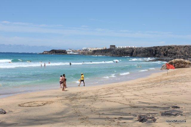 Beach Cotillo Fuerteventura Canary Islands