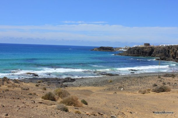 beach Cotillo Fuertventura Canary Islands
