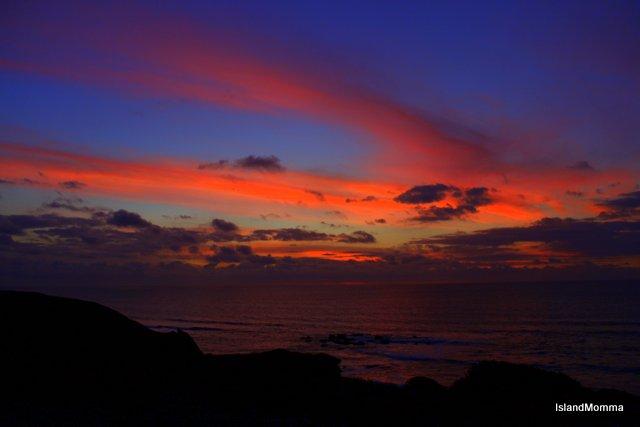 sunset La Pared