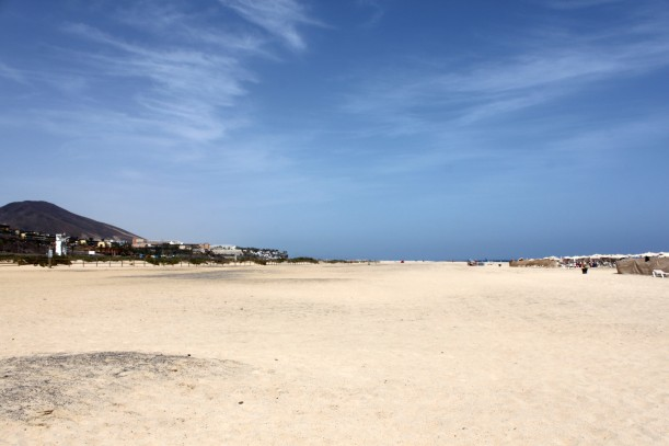Beach at Morro Jable on the Jandia peninsula