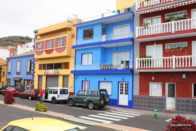 Historic, renovated sea front houses in Tazacorte