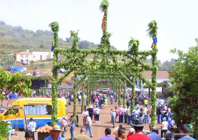 Fiesta San Antonio La Palma Canary Islands