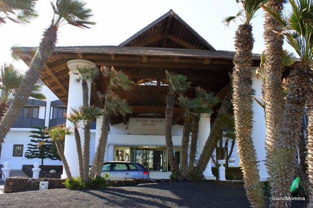 Entrance Sands Beach Resort Lanzarote