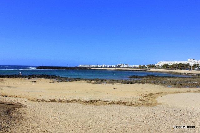Sands Beach lies on the Atlantic Ocean
