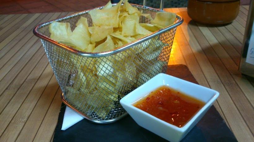 Sweet potato fries in Tapaventura