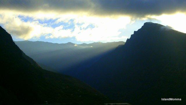 Morning mists La Palma