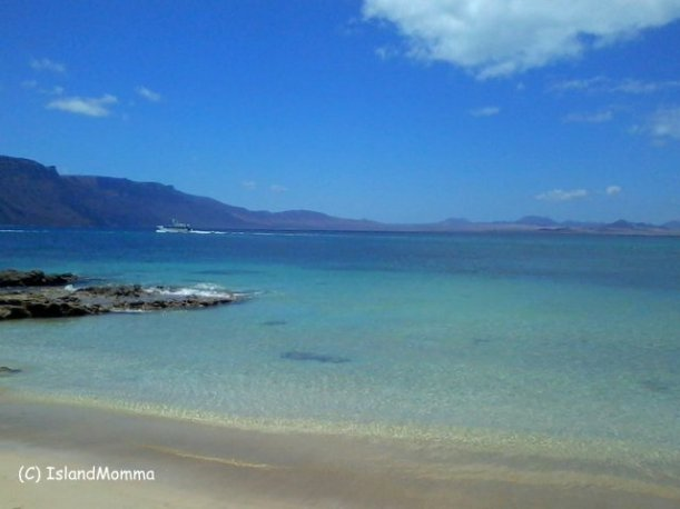 I fell in love with the white sands and turquoise waters of Graciosa, smallest of the inhabited Canary Islands