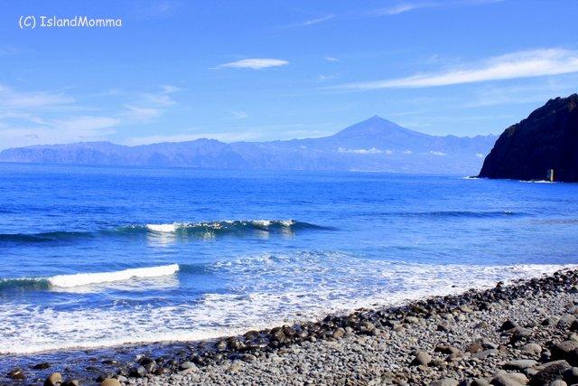 Playa Santa Catalina otherwise known as Playa de Hermigua in La Gomera