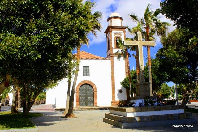 The church in Antigua