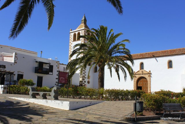 The historic church in Betancuria