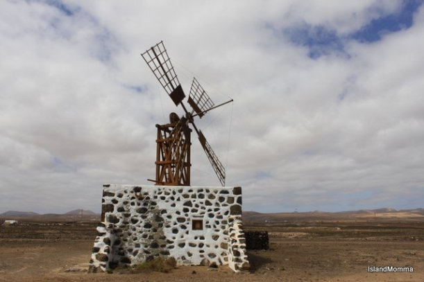Windmill near Puerto Lajas