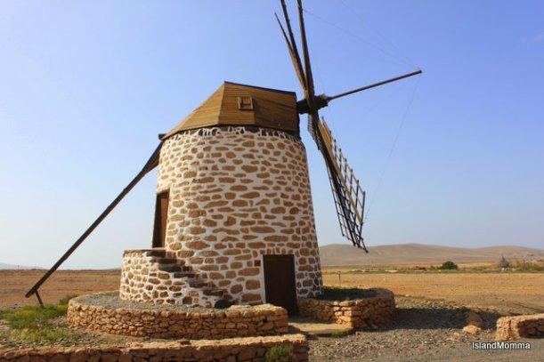 Windmill at Tefía