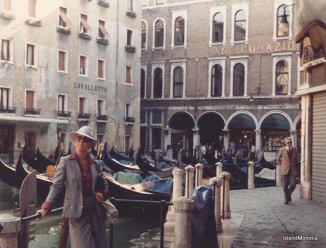 The Orient Express took us to Venice. A never-to-be-forgotten trip.