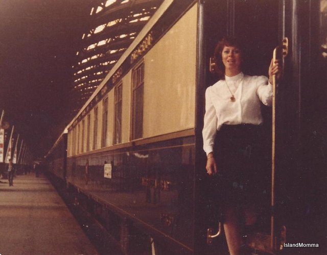 The ultimate dream come true, riding the Orient Express which remains one of my best travel memories