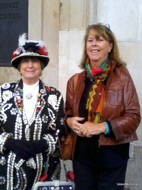 Bought my poppy from the Pearly Kings & Queens in Covent Garden
