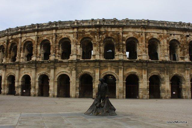 Roman amphitheater Nimes