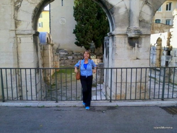 Me by the Augustine Gate in Nimes