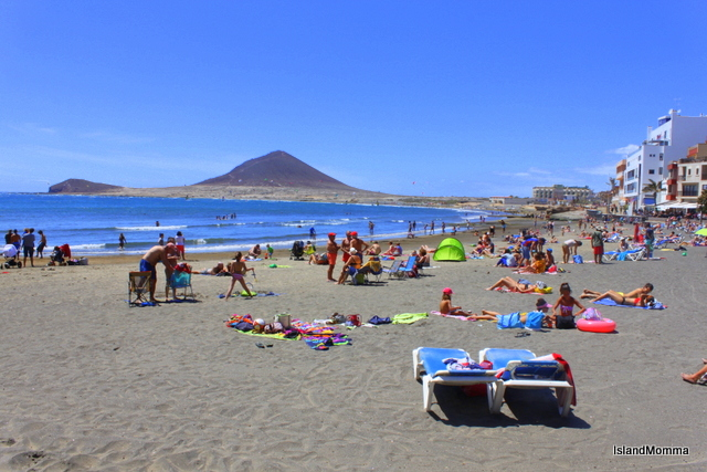 Playa principal El Médano