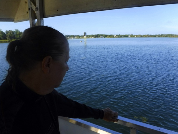 Whispering a silent goodbye to the manatees
