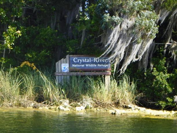Crystal River sign